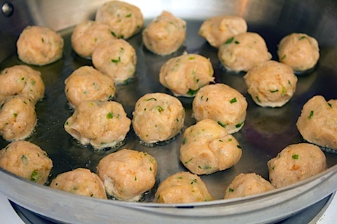 Jalapeno Lime Chicken Meatballs with Whipped Feta Frying.jpg