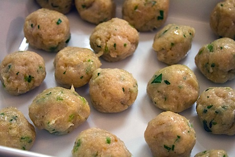 Jalapeno Lime Chicken Meatballs with Whipped Feta Meatballs Formed.jpg