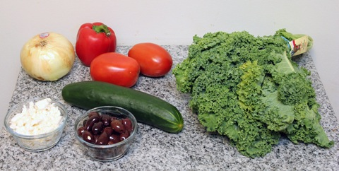 Baby Kale Greek Salad Recipes — Dishmaps