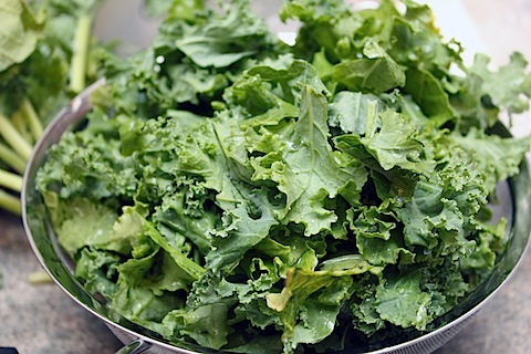 how much vitamin k in kale