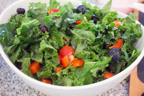 Kale and Quinoa Salad Peppers and Blueberries.jpg