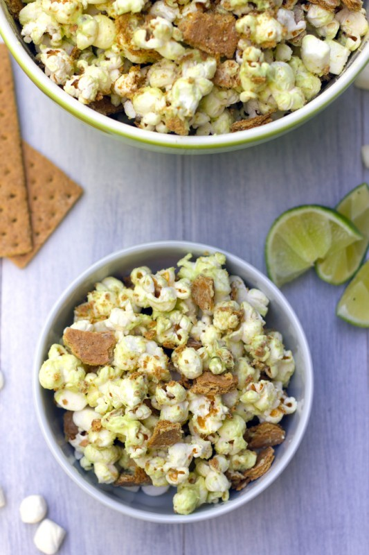 Key Lime Pie Popcorn