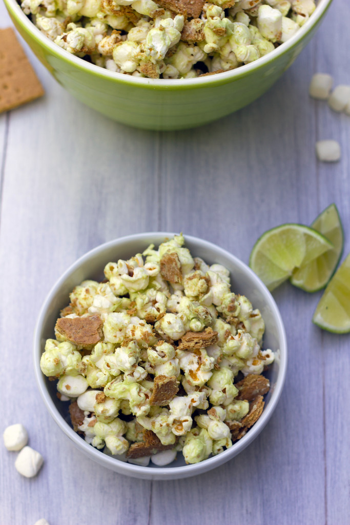 Key Lime Pie Popcorn 6