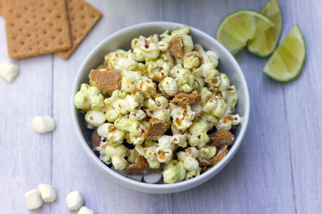 Key Lime Pie Popcorn 7