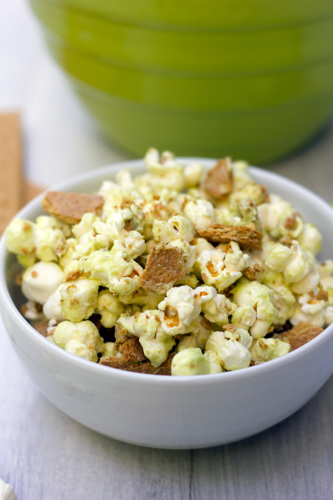 Key Lime Pie Popcorn 9
