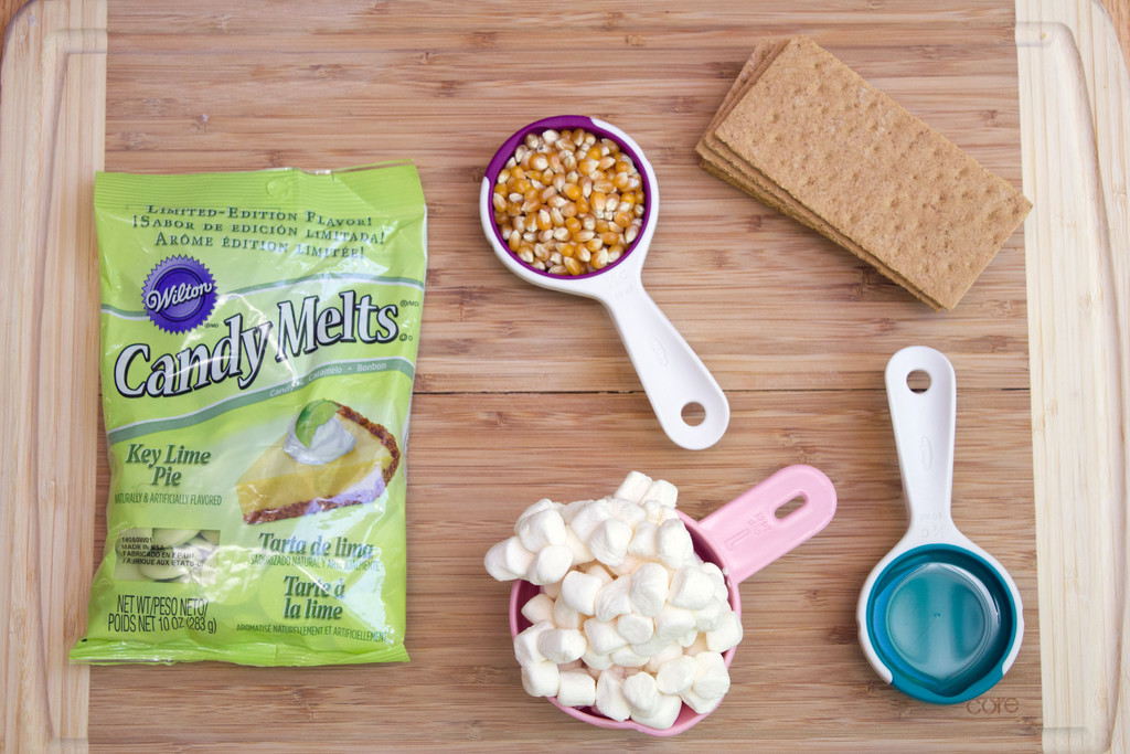 Key Lime Pie Popcorn Ingredients