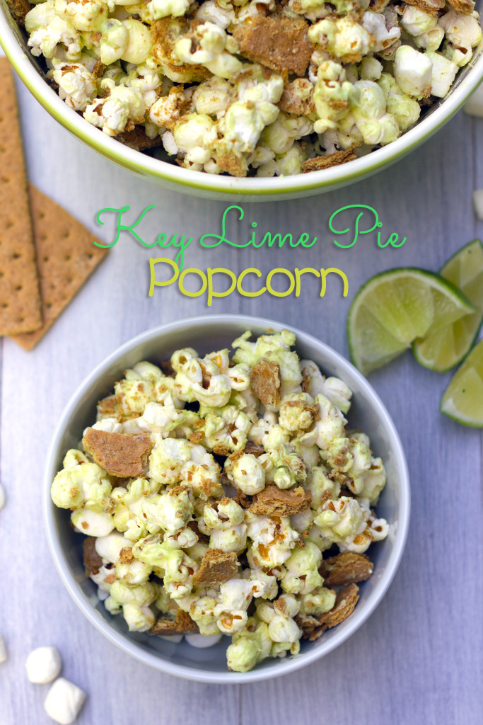 Key Lime Pie Popcorn