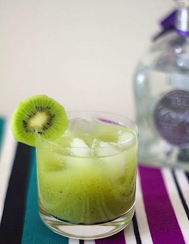 Kiwi Mint Tequila Cocktail