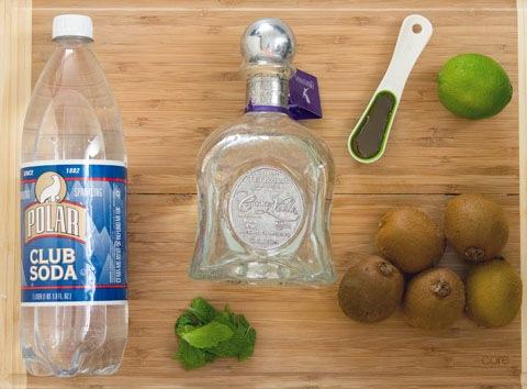 Kiwi Mint Tequila Cocktail Ingredients.jpg