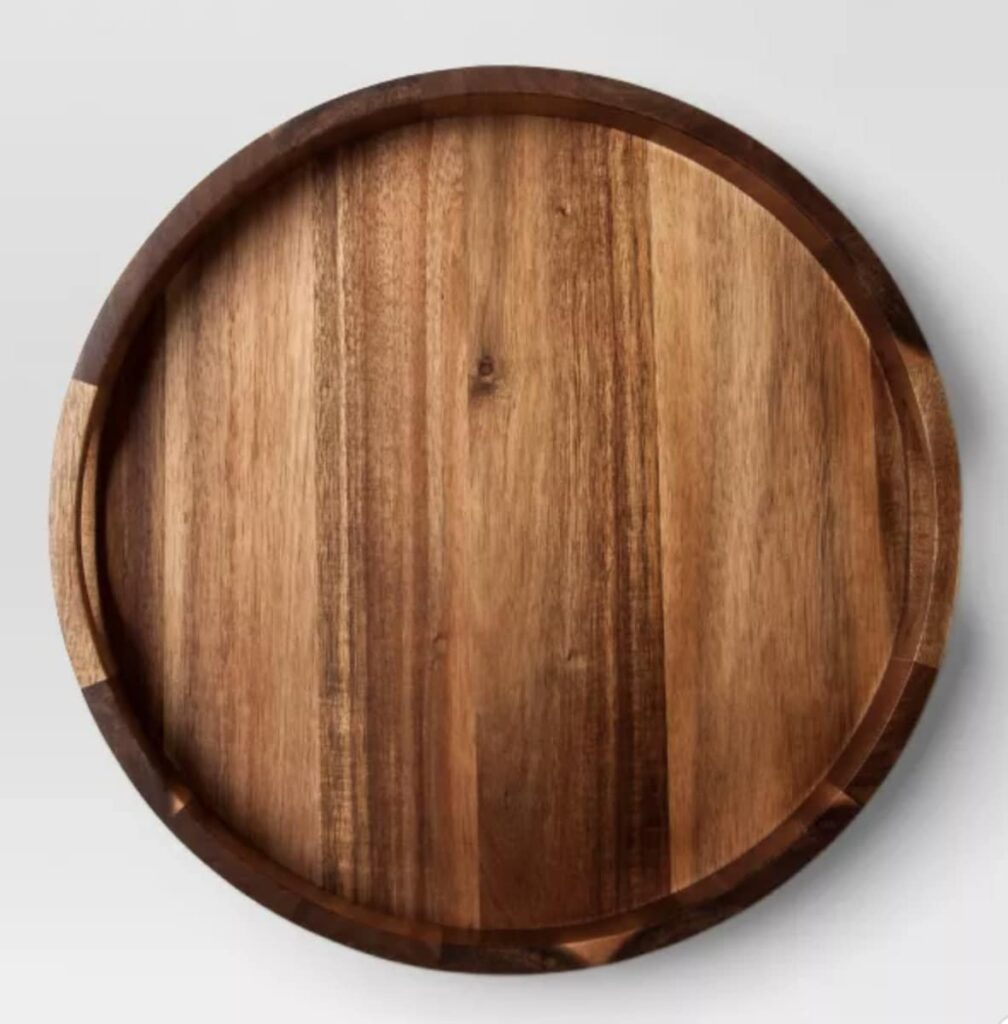Large wooden grazing board
