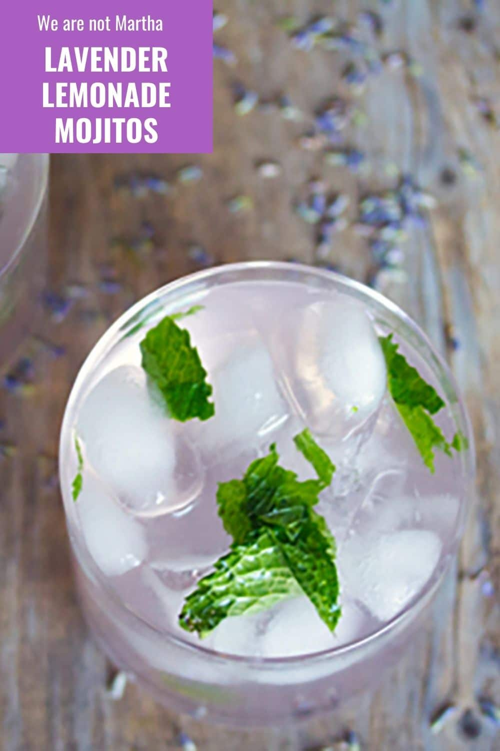 Lavender Lemonade Mojitos