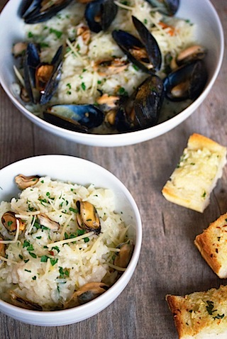 Lemon Fennel Risotto with Mussels 10.jpg