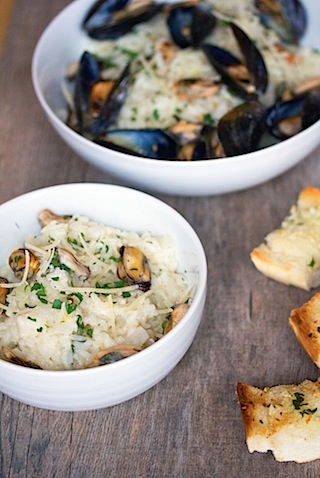Lemon Fennel Risotto with Mussels 12.jpg
