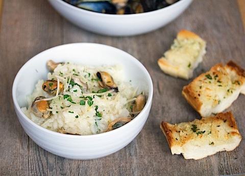 Lemon Fennel Risotto with Mussels 6.jpg