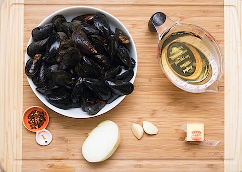 Lemon Fennel Risotto with Mussels Ingredients 2.jpg