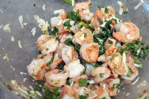Lemon Garlic Shrimp Scampi With Kale And Polenta Recipes — Dishmaps