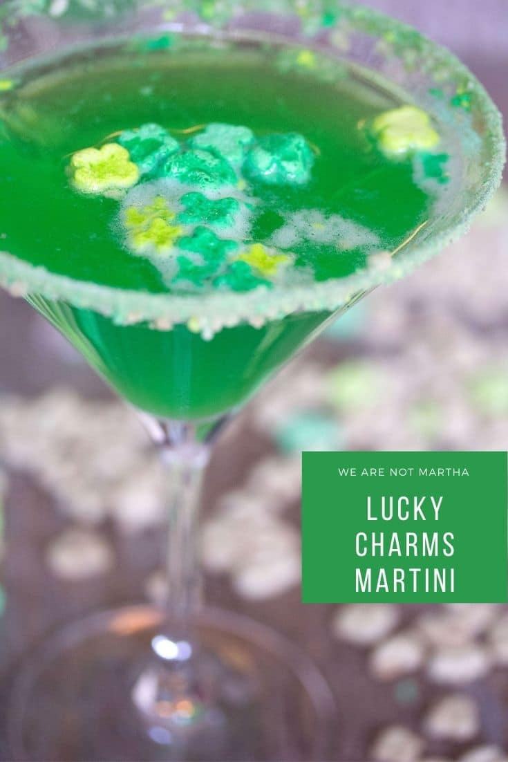 Lucky Charms Martini