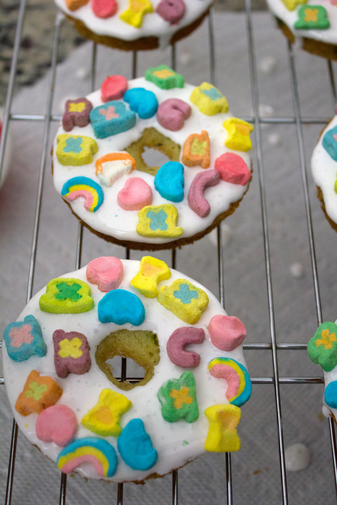 lucky charms doughnuts recipe we are not martha