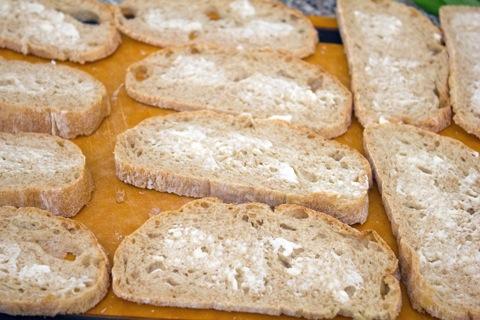 Maple Strawberry Dessert Crostini Buttered Bread.jpg