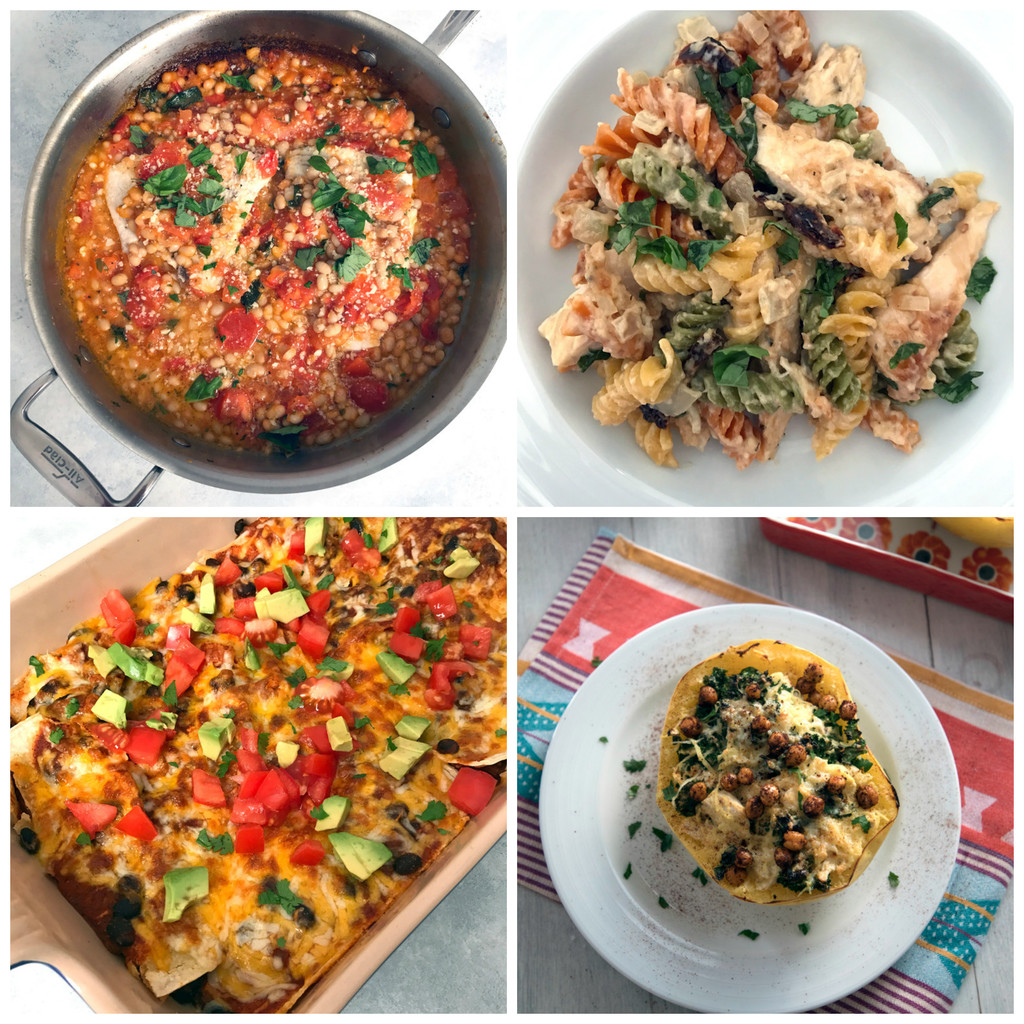 Weeknight Meals from March 2017 | wearenotmartha.com