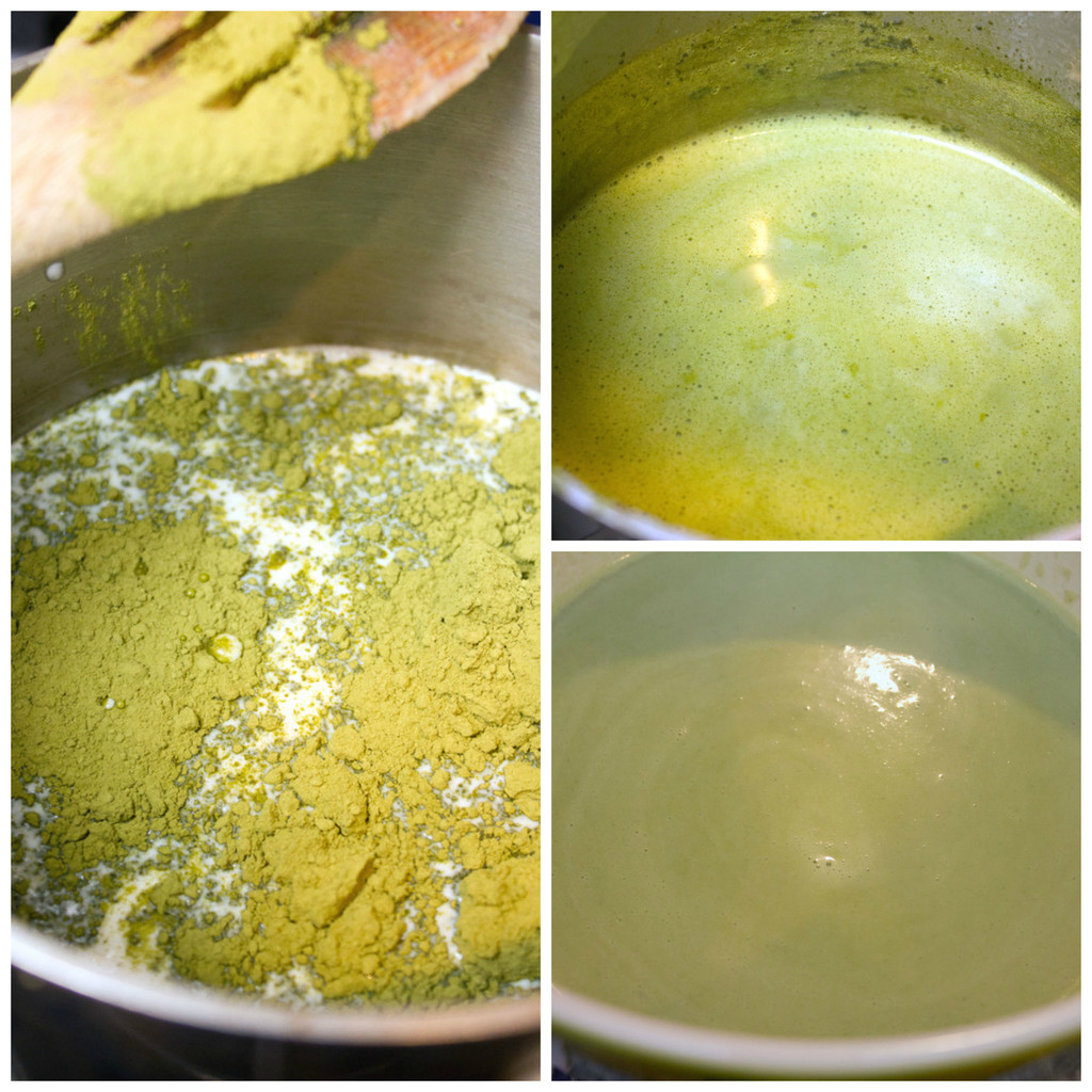Matcha-Ice-Cream-Making