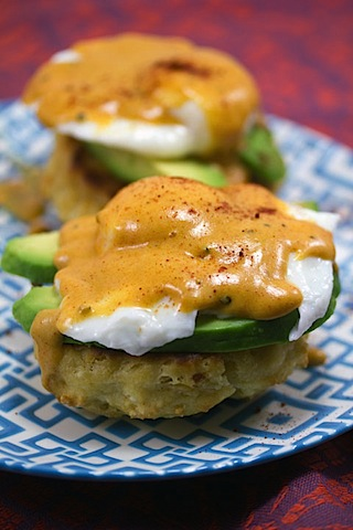 Mexican Eggs Benedict with Chorizo Biscuits and Chipotle Hollandaise Sauce 12.jpg