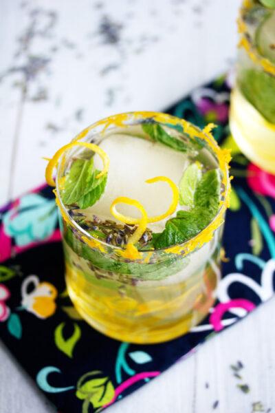 Meyer Lemon Lavender Mojito (and a Crisp giveaway!)
