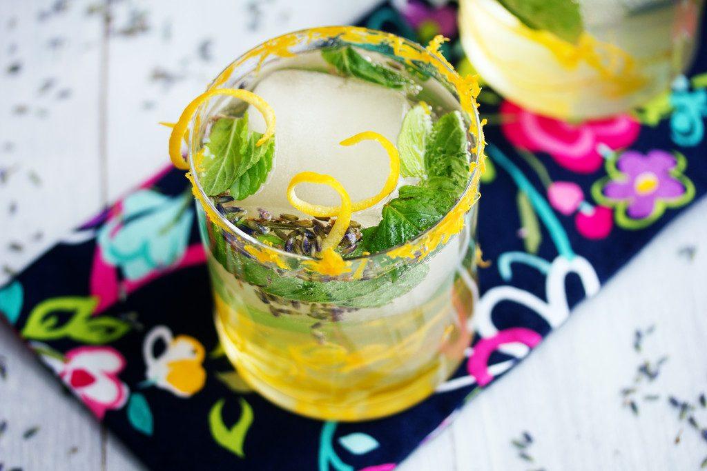 Meyer Lemon Lavender Mojito: Citrus, lavender, and mint packed ...