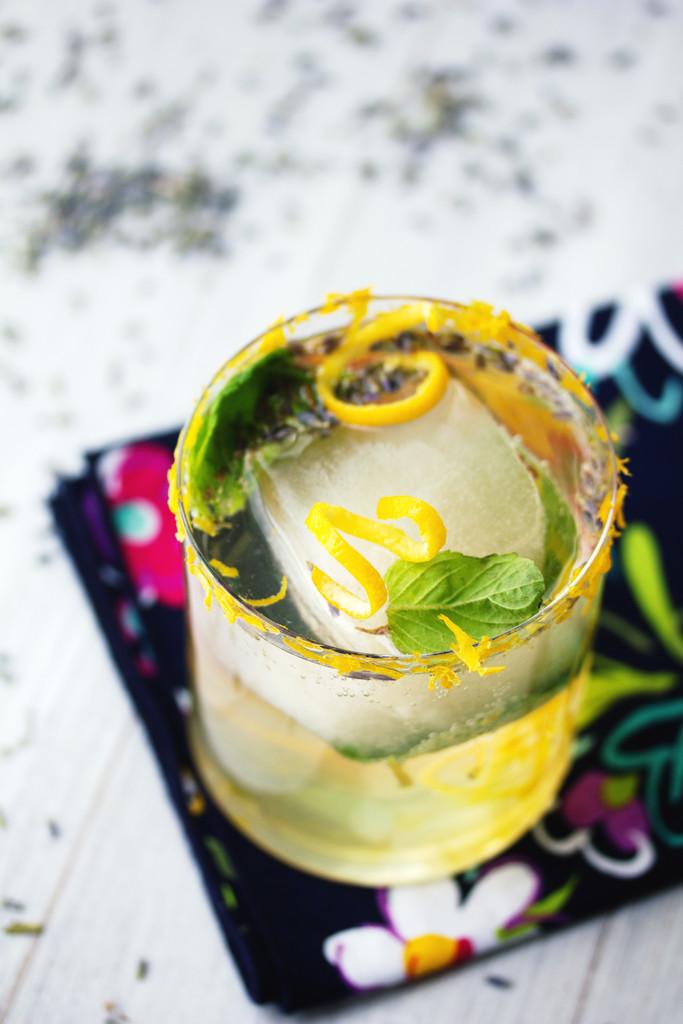 Meyer Lemon Lavender Mojito Recipe | We are not Martha