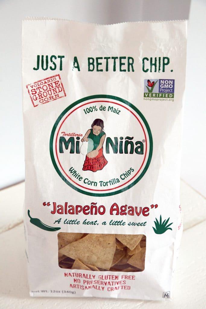 Mi Niña Jalapeño Agave Tortilla Chips | wearenotmartha.com
