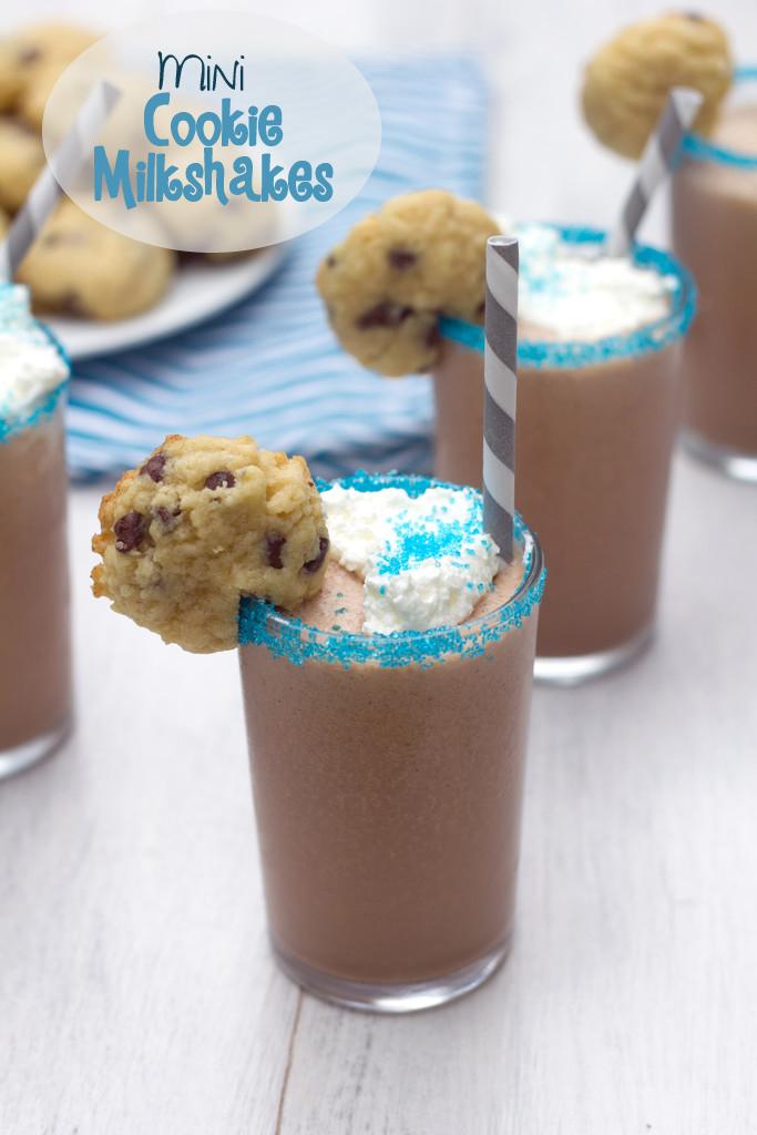 Mini Cookie Milkshakes