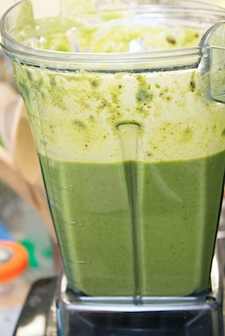 Mint Chocolate Green Smoothie Blended.jpg