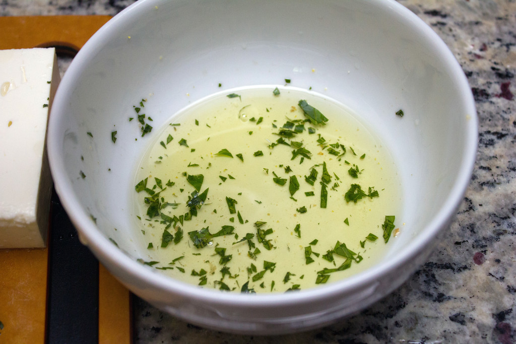 Mint Olive Oil