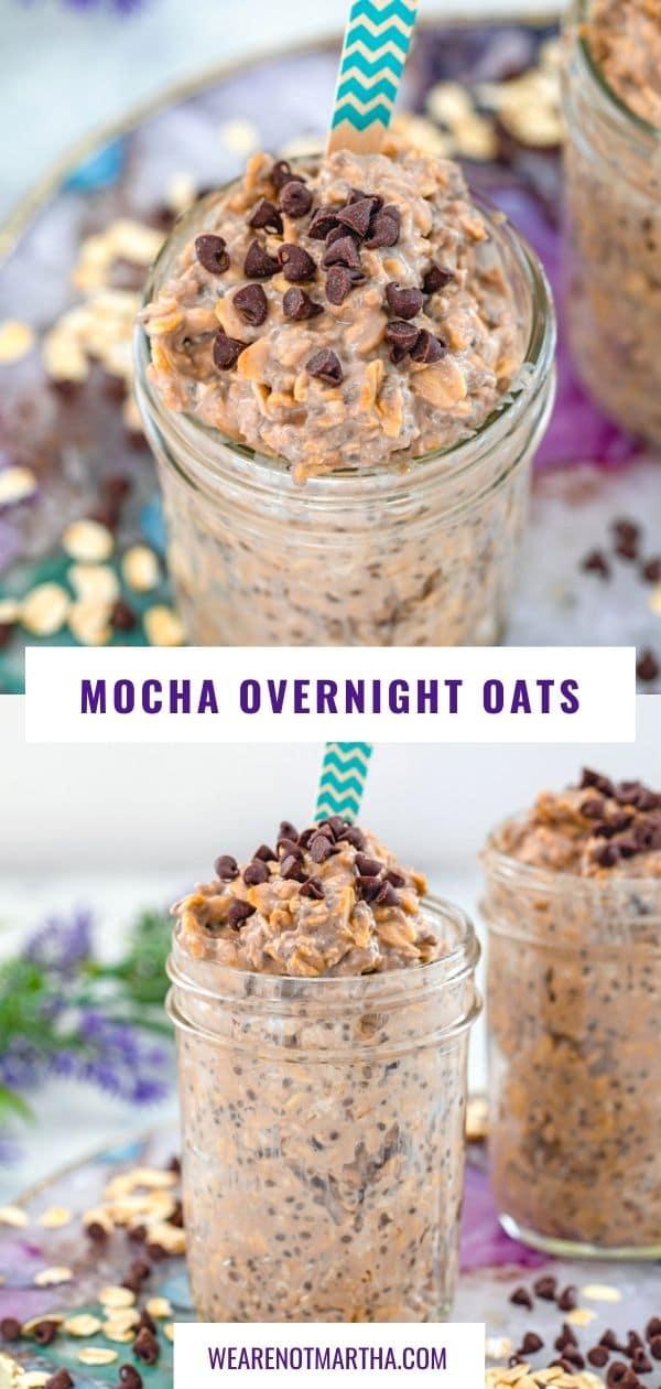 Mocha Overnight Oats