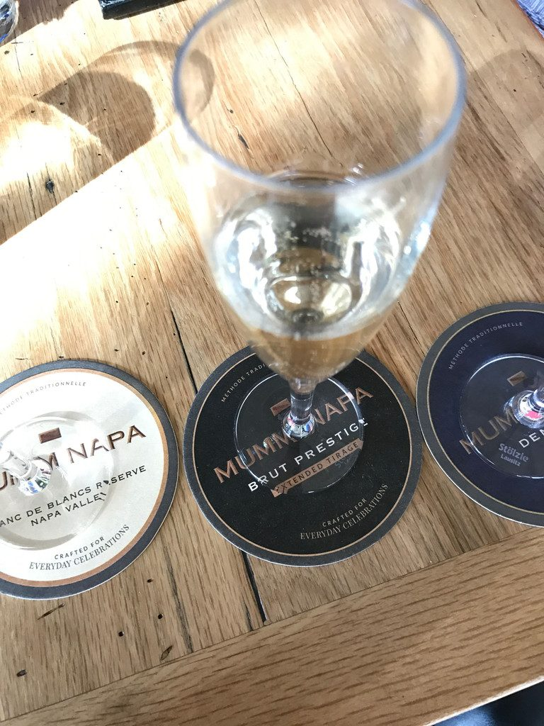 San Francisco and Wine Country Trip -- Mumm Napa | wearenotmartha.com