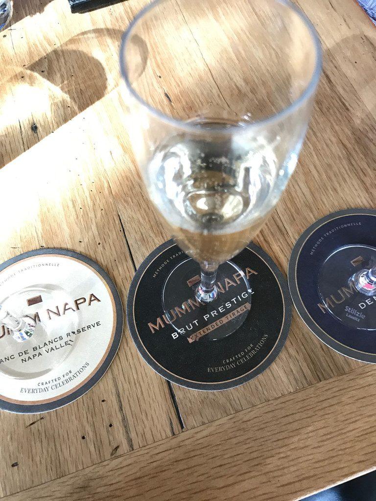 San Francisco and Wine Country Trip -- Mumm Napa | wearenotmartha.com