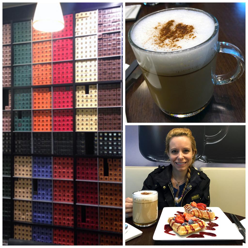 Nespresso Boutique Collage