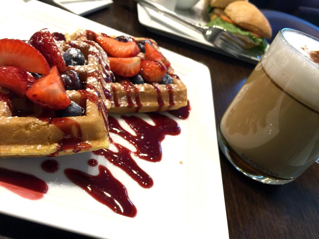 Nespresso Waffles and Espresso