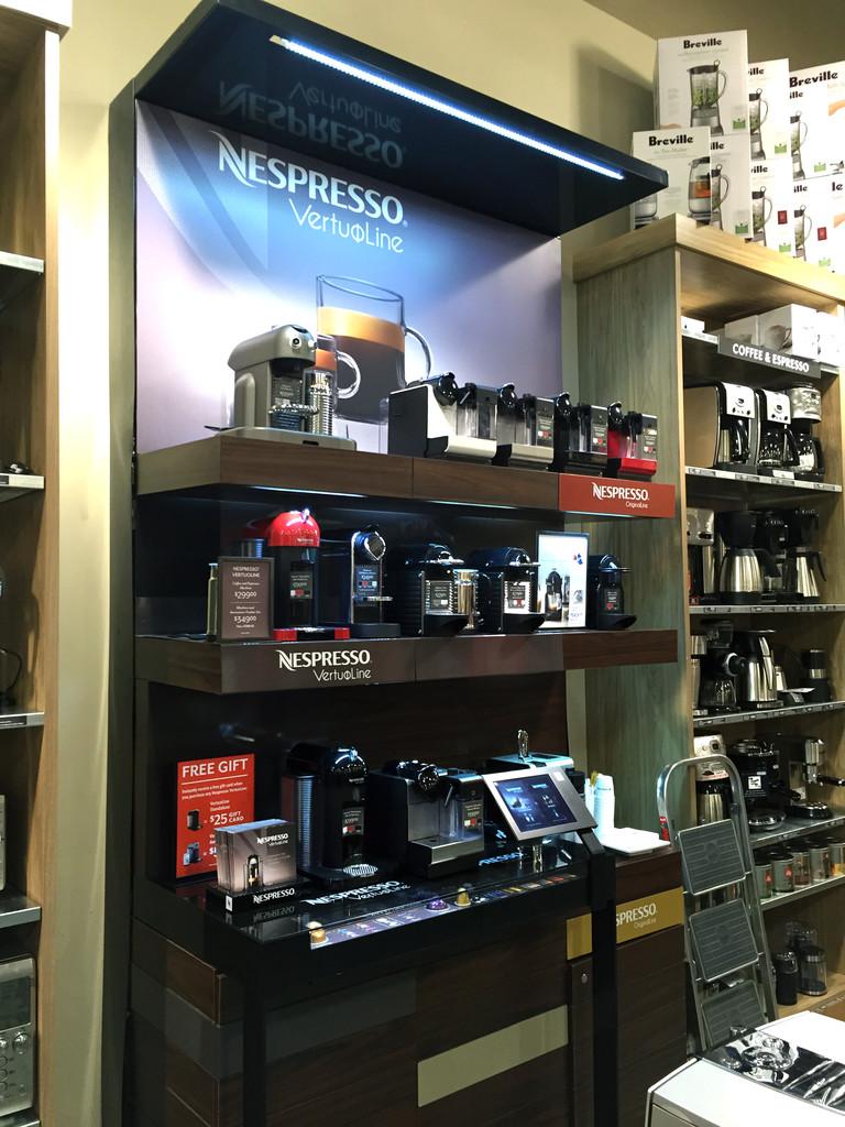 Nespresso at Sur La Table