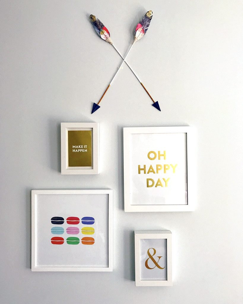 Motivational Office Wall Decor | wearenotmartha.com