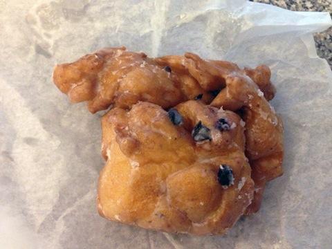 Ogunquit- Congdon's Doughnuts Blueberry Fritter.jpg