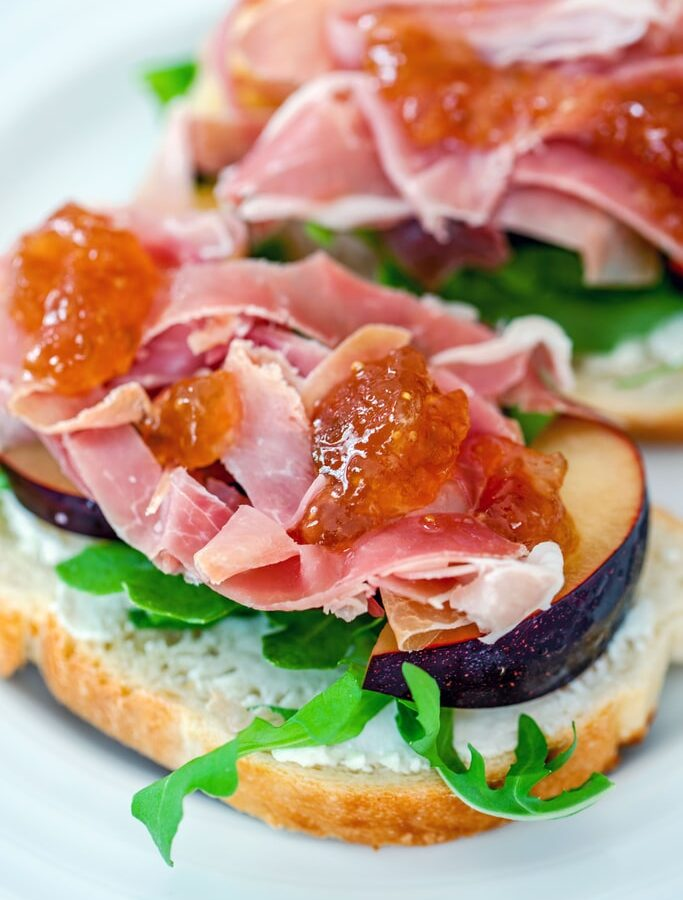 These Open-Faced Prosciutto and Plum Sandwiches make for an incredibly easy, light, and seasonal summer dinner that is likely just what the doctor ordered!