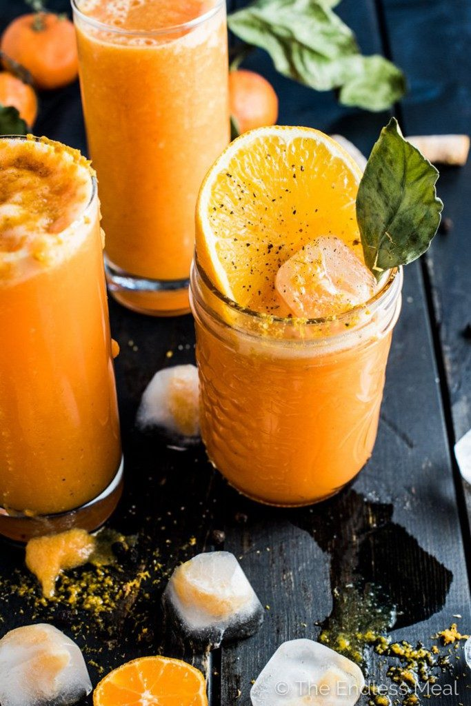 Orange-Tumeric-Ginger-Smoothie