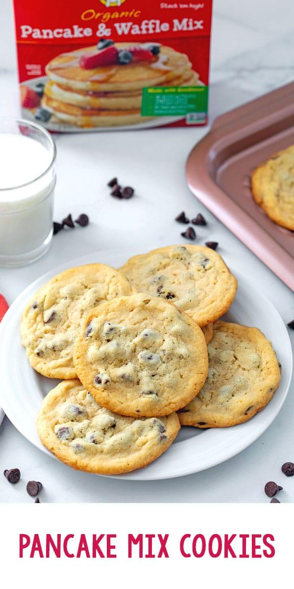 Cookies with Pancake Mix