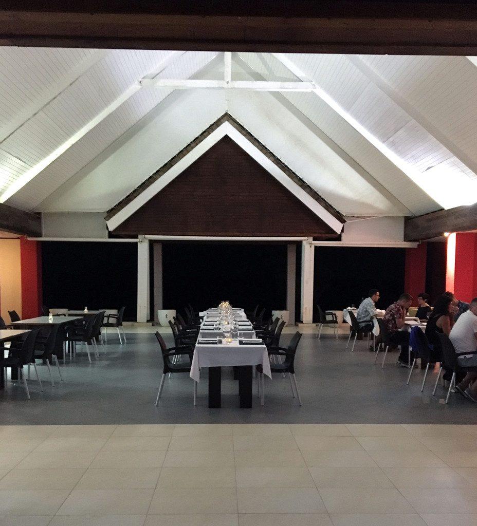 Le Pavillon by the Sea restaurant-- St. Maarten | wearenotmartha.com