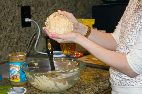 Peanut Butter Chocolate Cheese Ball Forming 2.jpg