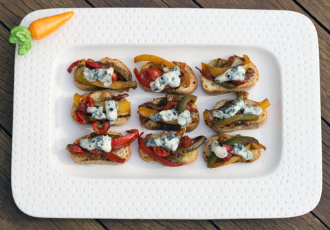 Pepper and Gorgonzola Bruschetta 3.jpg