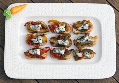 Pepper and Gorgonzola Bruschetta 3.jpg