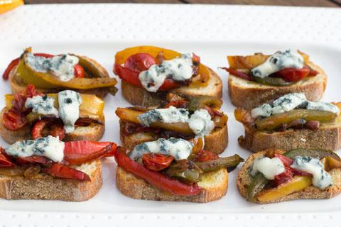 Pepper and Gorgonzola Bruschetta 4.jpg