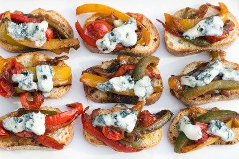 Pepper and Gorgonzola Bruschetta 5.jpg